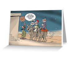 Following the star...er... Greeting Card