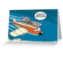 Plane Sailing Greeting Card