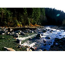 Cascade River Photographic Print