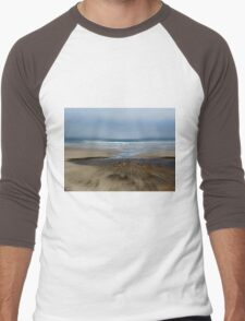 Run For The Water.... Yachats, Oregon Men's Baseball ¾ T-Shirt