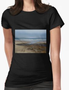 Run For The Water.... Yachats, Oregon Womens Fitted T-Shirt