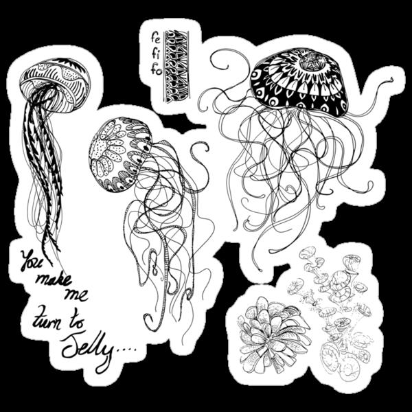 Jellyfish Romance by FeFiFo