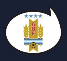Uruguay Soccer / Football Fan Shirt / Sticker by funaticsport