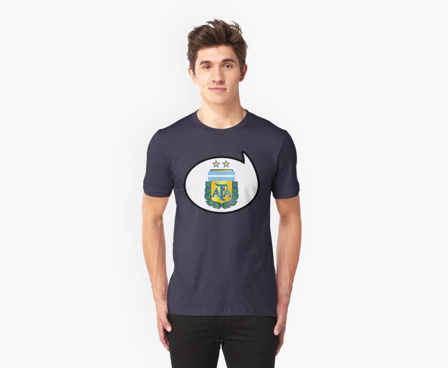 Argentina Soccer / Football Fan Shirt / Sticker by funaticsport