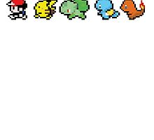 8 Bit Trainer and Starters by Maryanne D