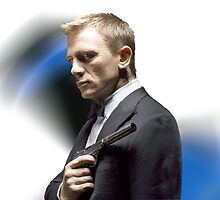 Daniel Craig as James Bond by Stephanie Küpper