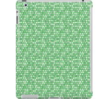 Shades of Green Squares iPad Case/Skin