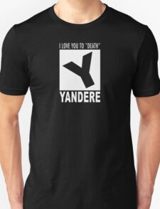 Yandere rating T-Shirt