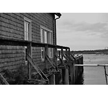 Mossy Pier Photographic Print