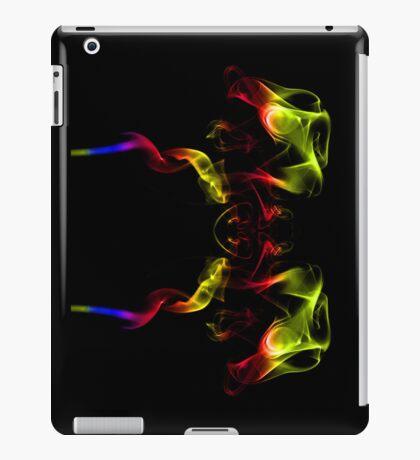 Two headed fire dragon iPad Case/Skin