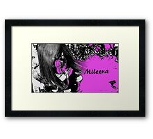 Mileena of MKX Framed Print