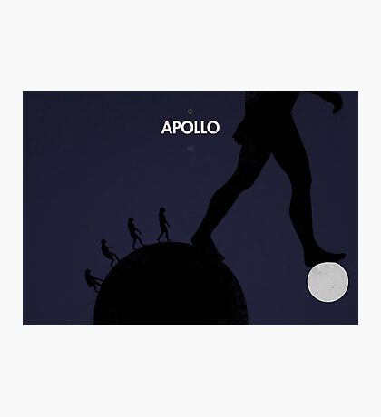 99 Steps of Progress - Apollo Photographic Print