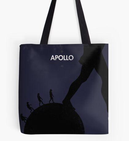 99 Steps of Progress - Apollo Tote Bag