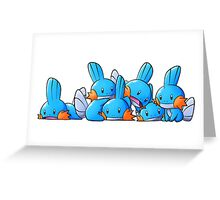 Bundle of Mudkips  Greeting Card