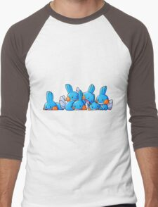 Bundle of Mudkips  Men's Baseball ¾ T-Shirt