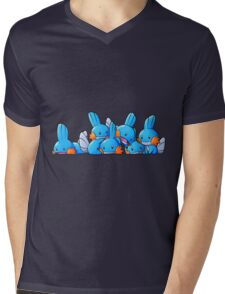 Bundle of Mudkips  Mens V-Neck T-Shirt