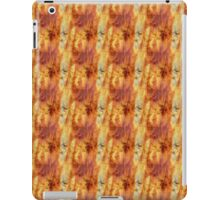 Red Orange and Yellow Spills iPad Case/Skin