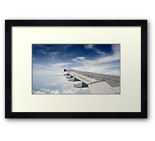 Fly wing Framed Print