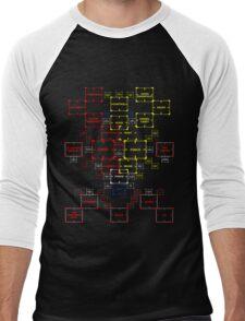 The Machine in Progress version 4.2 variant Men's Baseball ¾ T-Shirt