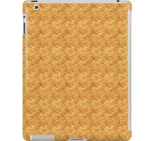 Red Bubbles on Gold iPad Case/Skin