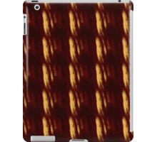 Red and Gold Smears iPad Case/Skin