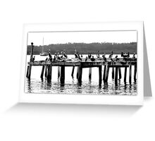 Party Time On the Pier Greeting Card