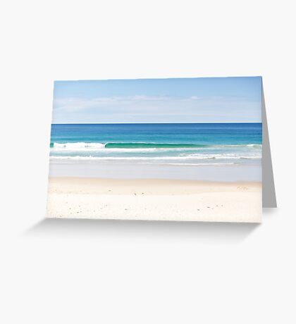 The Ocean makes me happy Greeting Card