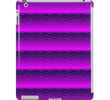 Purple Sand Dunes Abstract iPad Case/Skin