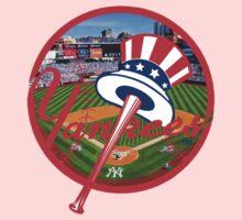 New York Yankees Stadium Logo Kids Clothes