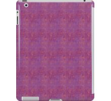 Pink Polka Dots on Purple iPad Case/Skin