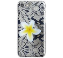 Plumeria Flower iPhone Case/Skin