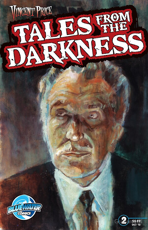 Vincent Price: Tales from The Darkness #2 by Graham Hill