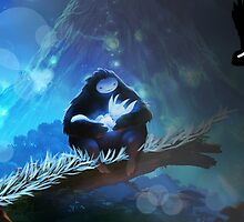 Ori and the Blind forest by Deathrosen