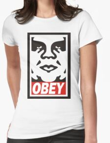 Obey The Giant Womens Fitted T-Shirt