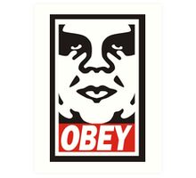 Obey The Giant Art Print