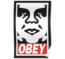 Obey The Giant Poster