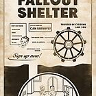 Fallout Shelter Propaganda Poster by victorfranjo