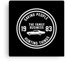 Supernatural - The Family Business Canvas Print