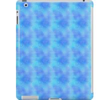 Nubby Blue Glass iPad Case/Skin