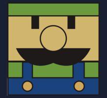 Minimal Luigi Kids Tee