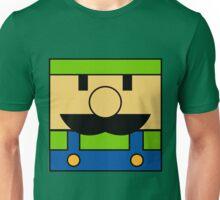 Minimal Luigi Unisex T-Shirt