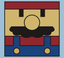 Minimal Mario Kids Clothes