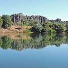 Along the Fitzroy River, Kimberley, Western Australia by Margaret  Hyde