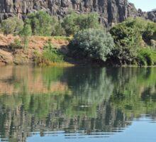 Along the Fitzroy River, Kimberley, Western Australia Sticker