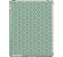 Mint Green Floral Pattern iPad Case/Skin