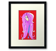 Can't Look Framed Print