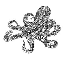 Doodle Octopus by lyrics-and-such
