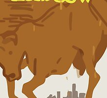 Max's Poster - The Winger and the Cow by scolecite