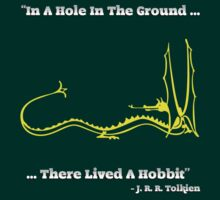 In A Hole In The Ground, There Lived A Hobbit by MoazTheFreeman