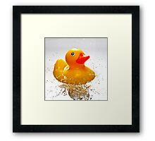 Duck! Framed Print